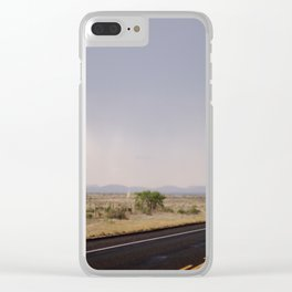 Road to Marfa 2 Clear iPhone Case