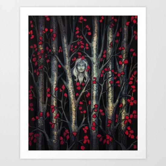 Night so Dark, Where are you? Art Print