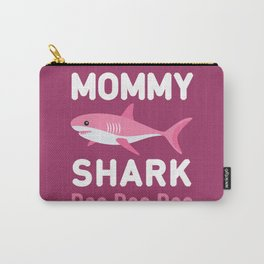 Mommy Shark Carry-All Pouch