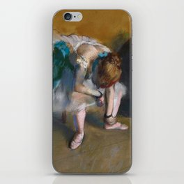 Edgar Degas - Waiting iPhone Skin
