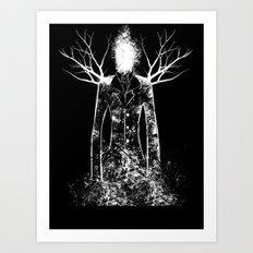 The Slenderman Art Print