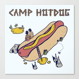CAMP Canvas Print