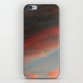 Moon and Sunset iPhone Skin