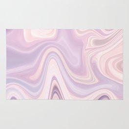 Rose Quartz & Serenity - Liquify Series Rug