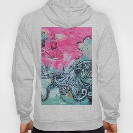 Octopus and Two Women Hoody