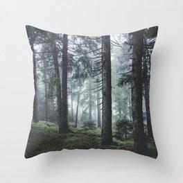 Path Vibes Throw Pillow