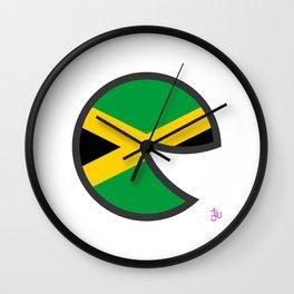 Jamaica Smile Wall Clock