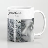 gift card Mugs featuring Gift by Gwendolyn Lanier-Gardner