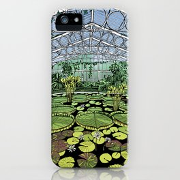 Kew Gardens Water Lily House  iPhone Case