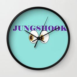 K-Poppin: Shook Wall Clock