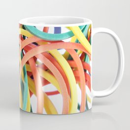 Many Colored Scattered Stationery Rubbers Coffee Mug