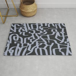 Abstract Composition 15 Rug
