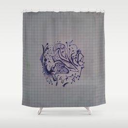 Vadaaka Shower Curtain