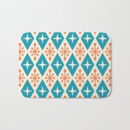 Mid Century Modern Atomic Triangle Pattern 107 Bath Mat