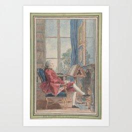 Jean-Pierre de Bougainville Art Print
