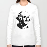 washington Long Sleeve T-shirts featuring WASHINGTON by b & c