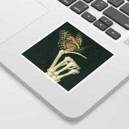 Butterfly & Bones Sticker