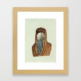Traffic Goddess. Framed Art Print