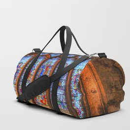 Bath Abbey Stained Glass Window Duffle Bag