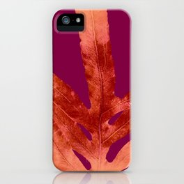 Red Wine Winter Nights, Romance iPhone Case