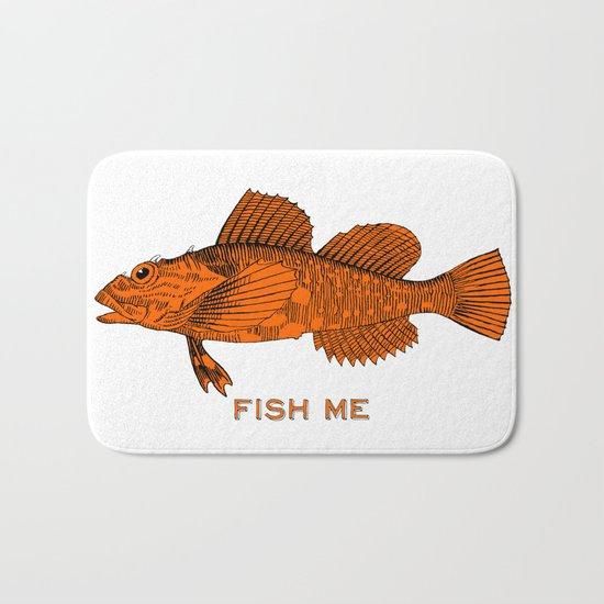 Fish Me Bath Mat