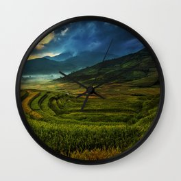 Agriculture Wall Clock