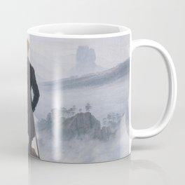 Wanderer above the Sea of Fog - Caspar David Friedrich Coffee Mug