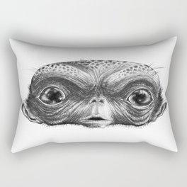 Big Eye Frank Rectangular Pillow