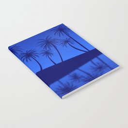 Blue Island Starry Sky Notebook