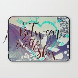 In Between artwork Laptop Sleeve
