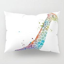 Blue Giraffe Pillow Sham