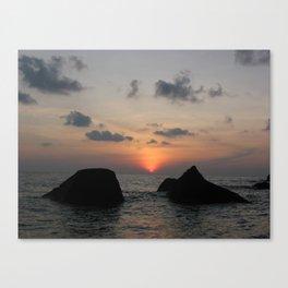 The Sanctuary at Sea Canvas Print