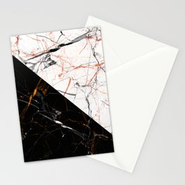 Marble Mirror Stationery Cards