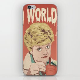 JESS IS SO WORLDLY iPhone Skin