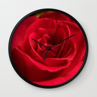 grace Wall Clocks featuring Grace by DesignsByMarly