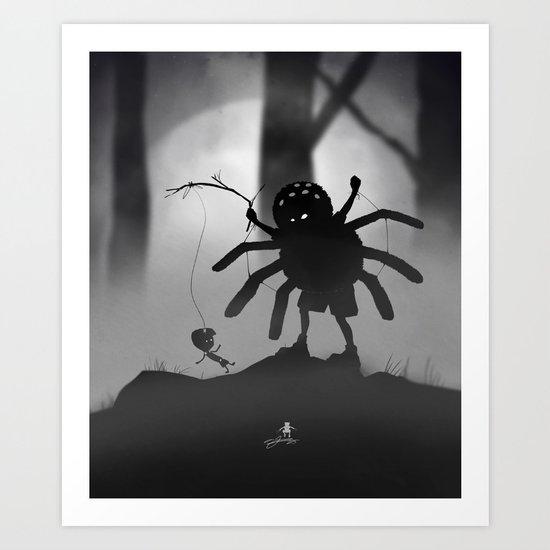 Limbo Kid Art Print