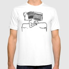 each other's type MEDIUM Mens Fitted Tee White