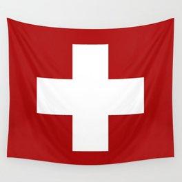 Swiss Cross Wall Tapestry