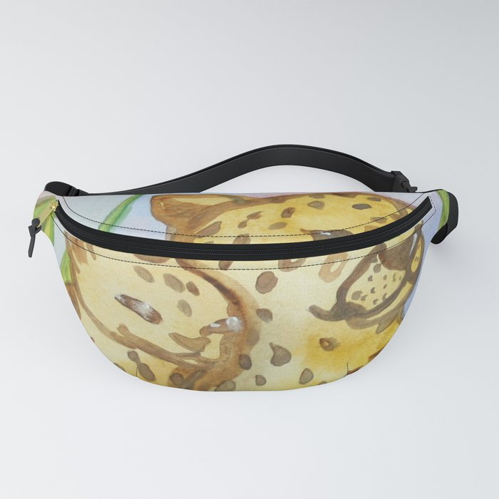 Cheetahs - Mother and a Cub Fanny Pack