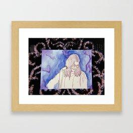 BØRNS WATERCOLOR Framed Art Print