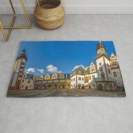 Amazingly Romantic Fairytale Castle Schloss Weilburg Hesse Germany Europe Ultra HD Rug