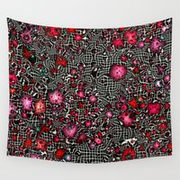 sci fi Wall Tapestries featuring Sci-Fi Fantasy Cosmos by MehrFarbeimLeben