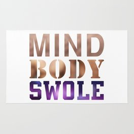 Mind, Body, & Swole Rug