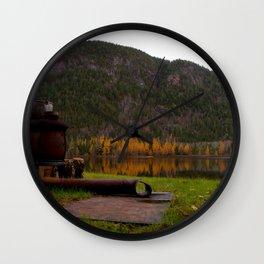 Old Stove Wall Clock