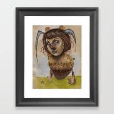 Beastie Framed Art Print
