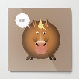 ANIMALS | HORSE Metal Print