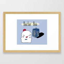 Doctor Boo Framed Art Print