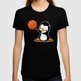 Basketball Penguin (2) T-shirt