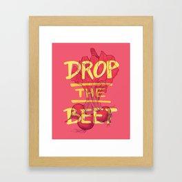 Beets Framed Art Print
