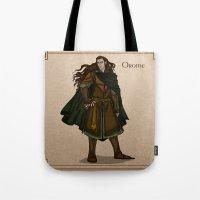 valar morghulis Tote Bags featuring Orome by wolfanita